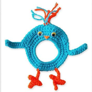 Crochet Blue Bird Lens Buddy Hood Cover Photographer Gift - PFLH24