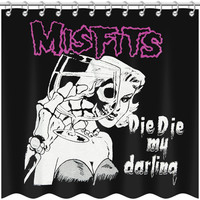 Misfits Shower Curtain