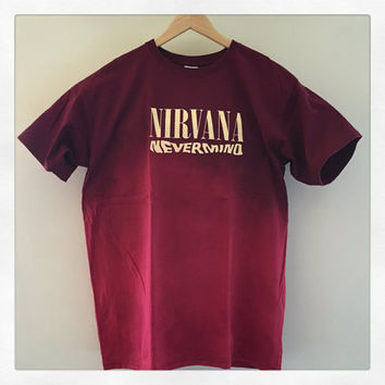 Nirvana's Nevermind Themed T Shirt