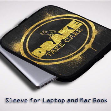 Drake Take Care Canada Sleeve for Laptop, Macbook Pro, Macbook Air (Twin Sides)
