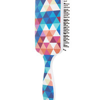 Geo Print Paddle Brush