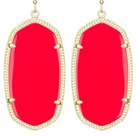 Danielle Earrings in Bright Red - Kendra Scott Jewelry