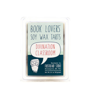 Divination Classroom - Wax Melt - Book Lovers' Soy Tart - 3oz Pack