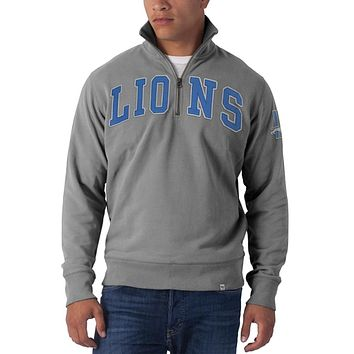 Detroit Lions - Striker 1/4 Zip Premium Sweatshirt
