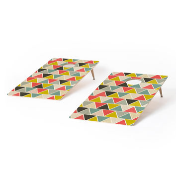 Heather Dutton Triangulum Cornhole Set