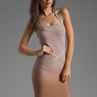 Stretta Ciara Dress in Beige Ombre from REVOLVEclothing.com
