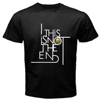 this is no the end black t-shrit Size S, M, L, XL, 2XL, 3XL, 4XL, and