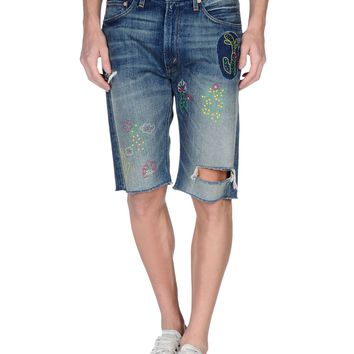 Levi's Vintage Clothing Denim Bermudas