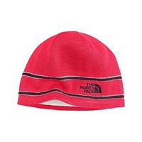 The North Face Logo Beanie Winter Hat Teaberry Pink Size One Size