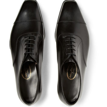 George Cleverley - Anthony Bodie Leather Oxford Shoes | MR PORTER