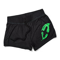 Firefly Leaf on the Wind Ladies' Shorts
