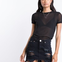 Sheer Perfection Tee