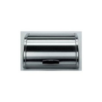 Brabantia Roll Top Medium Bread Bin in Matt Steel
