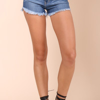 Flying Monkey Highwaist Cutoff Shorts