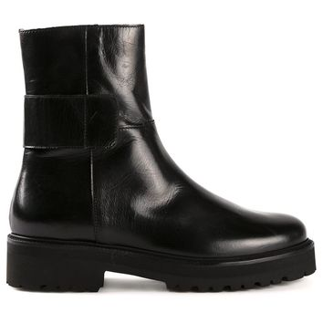 MM6 By Maison Martin Margiela brushed effect boots