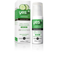 Yes To Cucumbers Soothing Sensitive Skin Daily Calming Moisturizer SPF 30