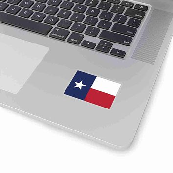 Texas State Flag Sticker Decal
