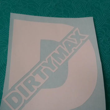 Dirty Max Decal | Duramax Decal | Duramax | Truck Decal | Southern Decal | Truck Logo | Truck Sticker | Car Sticker | Decal | Bumper sticker