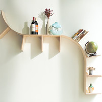 Modern Arched Bookshelves by PerfekteVelle on Etsy