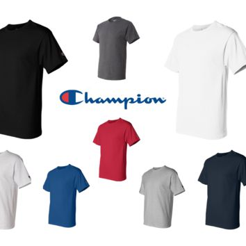 Champion T425 Men Short Sleeves T-Shirt S,M,L,XL