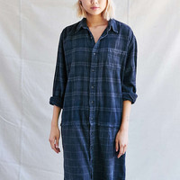 Urban Renewal Recycled Paired Flannel Dress - Urban Outfitters