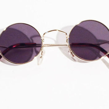 Vintage Sunglasses John Lennon Style, 1960's Style, Beatles Mod Sunglasses, Retro Sunglasses 60's sunglasses