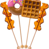 Breakfast Lollipops 4-Pack