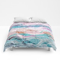 Making Waves Comforters by rskinner1122
