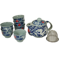 White Dragon Tea Set - AsianFoodGrocer.com | AsianFoodGrocer.com, Shirataki Noodles, Miso Soup