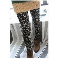 New In Corean Stone Lines Pattern Slim Laconic and Mix-Matched Leggings For Female China Wholesale - Everbuying.com