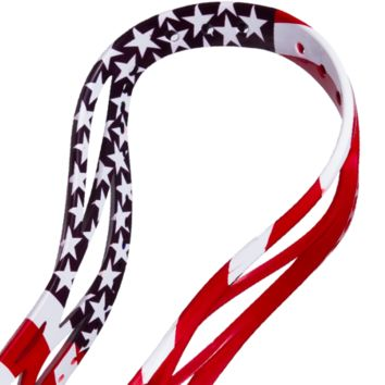 Ultra USA Flag Lacrosse Dyed Lacrosse Head | Lacrosse Unlimited