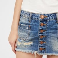 Free People Le Cat Mini Skirt