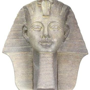Thutmose III Egyptian Pharaoh Portrait Statue Head 7H - Next Delivery Nov 2017