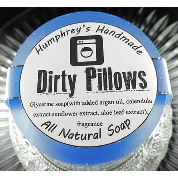 DIRTY PILLOWS Soap | Unisex | Fabric Softener Scent | Beard Wash | Body Soap
