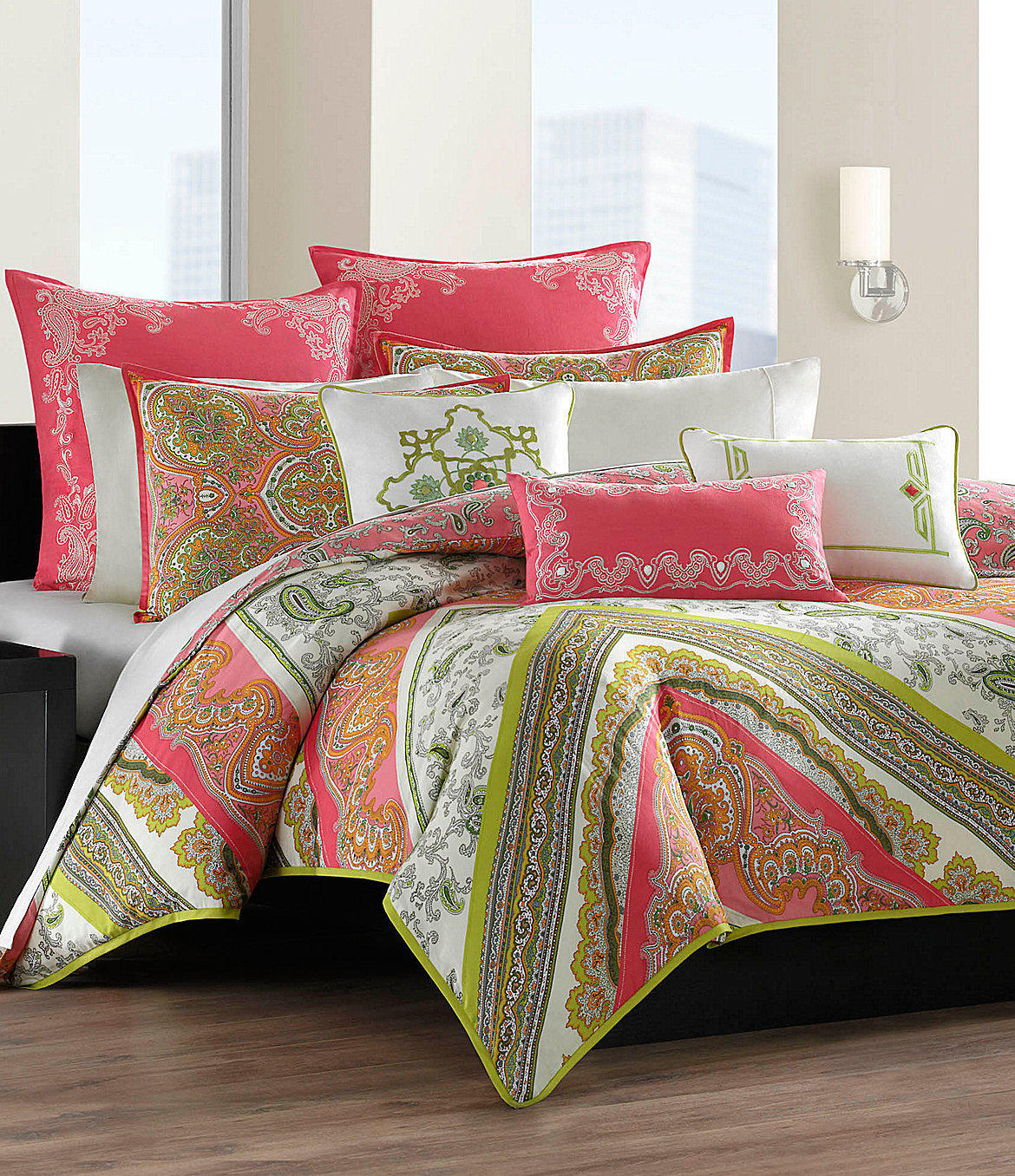 Echo Gramercy Paisley Bedding Collection From Dillard S