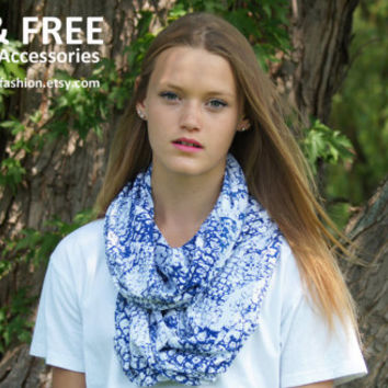 Infinity Scarf, Womens Accessories, Fashion Accessories, Womens Infinity Scarf, Boho Scarf