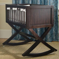 Allegro Cradle in Espresso by Green Frog