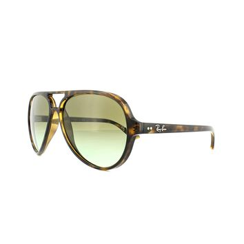 Ray-Ban Sunglasses Cats 5000 4125 710/A6 Tortoise Green Gradient