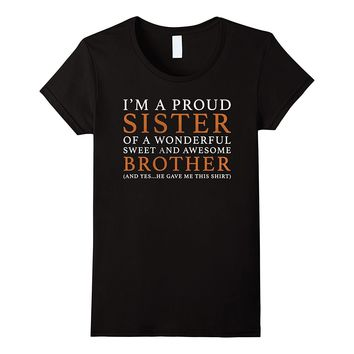 Gift For Sister From Brother - Funny Birthday Christmas Gift