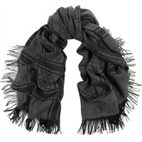 Gucci - Survie wool and silk-blend scarf