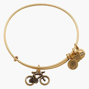 Women's Alex and Ani Bike Expandable Wire Bangle