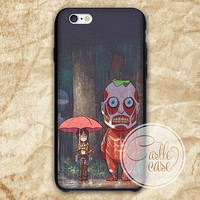 My Neighbor Titan iPhone 4/4S, 5/5S, 5C Series, Samsung Galaxy S3, Samsung Galaxy S4, Samsung Galaxy S5 - Hard Plastic, Rubber Case