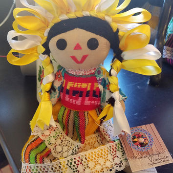 Mexican Handcrafted Artisan Doll