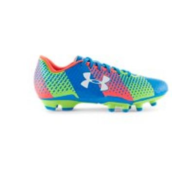 Under Armour Kids' UA CF Force FG Jr. Soccer Cleats