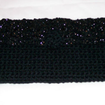 Crochet Clutch Purse with Flap, Handmade, OOAK, Fashion Bags, Evening Bag