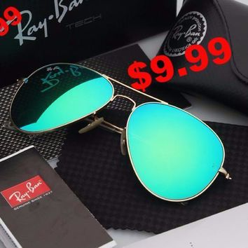 $9.99 - 3 Days Limited! RAY-BAN SUNGLASSES AVIATOR RB3025 Classic