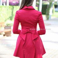 FROM PARIS WITH LOVE JACKET , DRESSES, TOPS, BOTTOMS, JACKETS & JUMPERS, ACCESSORIES, 50% OFF END OF YEAR SALE, PRE ORDER, NEW ARRIVALS, PLAYSUIT, COLOUR, GIFT VOUCHER,,Red,LONG SLEEVES Australia, Queensland, Brisbane