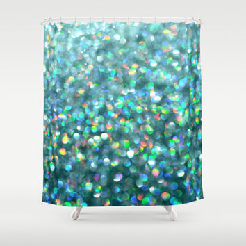 Under the Sea... Shower Curtain by Lisa Argyropoulos