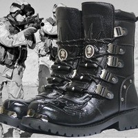 New Mens Fashion Cold-proof Martin Boots