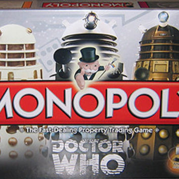 Doctor Who Collector's Edition Monopoly Board Game